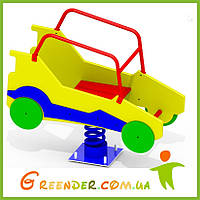 Качалка на пружине Автомобиль K28 для мальчиков игры на улице