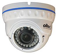 Видеокамера AHD купольная антивандальная OLTEC HDA-972VF-W