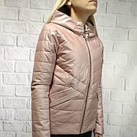 Демисезонная женская куртка Zlya пудра 162