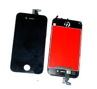 IPhone4S LCD with touchscreen and frame black orig (TEST)