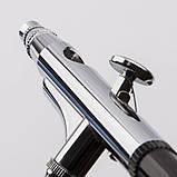 Аэрограф для моделизма и маникюра Fengda BD-139E с соплом 0,2мм, фото 3