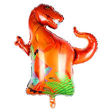 Шар мини динозавр тираннозавр 40*34 см