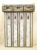 Вешалка № 04 с тремя ящиками.