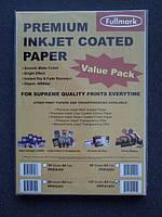 Бумага для струйной печати Fullmark A4 (210 x 297 mm) 100 листов 95 г/м2 матовая (08141)