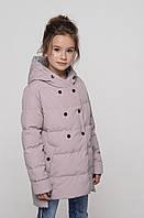Светлая детская утепленная куртка на весну/осень