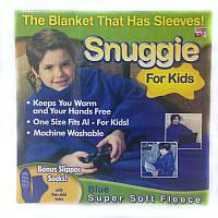 Плед с рукавами Snuggie детский КРАСНЫЙ