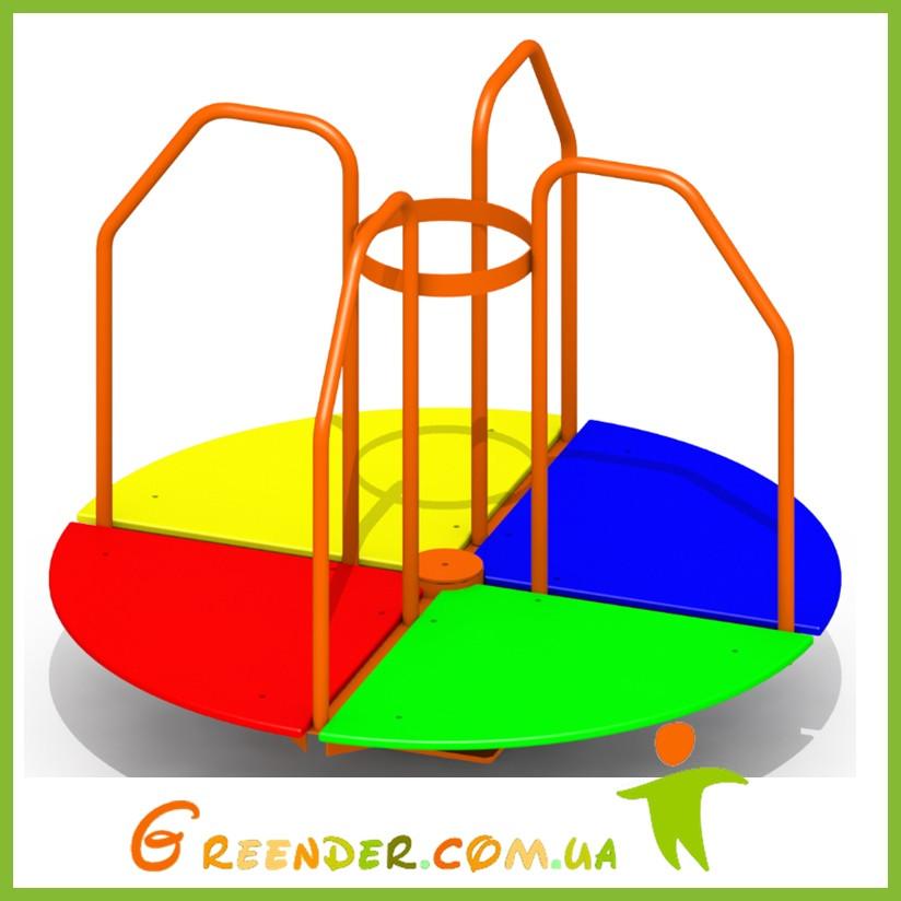 Карусель на детскую площадку K 38 цветная для спортивных комплексов
