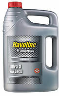 Моторное масло Texaco Havoline  ULTRA S 5W-30, 5 литров