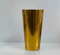 """Шейкер""""Бостон""""золотого цвета H 175 мм (шт)"""