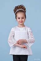 Блузка школьная для девочки 26-8079-1