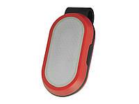 Велосипедний ліхтар 5825-2LED (white + red) з затискачем Габаритний  Червоний