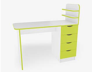 Маникюрный стол М121 Салатовый
