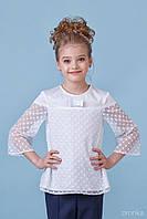 Блузка школьная для девочки 26-8080-1, фото 1