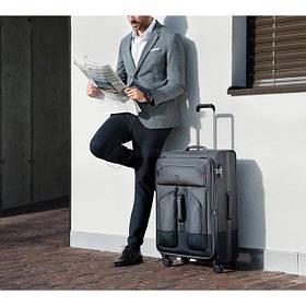 Тканевые чемодани