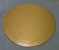 0291 Подложка для Торта круг.Зол/Серебро 300мм (20шт)