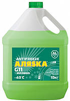 Антифриз зеленый -40°С G11 (10л) (пр-во Аляска)