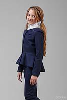 Жакет школьный для девочки 32-8002