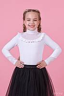 Блузка для девочки школьная  26-8043-1