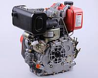 Дизельный двигатель 178F с электростартером под шлицы на мотоблоки генераторы