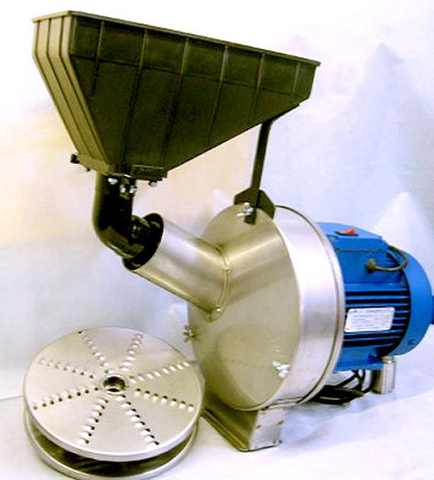 Измельчитель кормов (зернодробилка, кукурузолущилка, овощерезка, фрукторезка, корморезка) - Эликор-1 исполнение-8