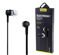 Наушники вакуумные REMAX 535 с микрофоном
