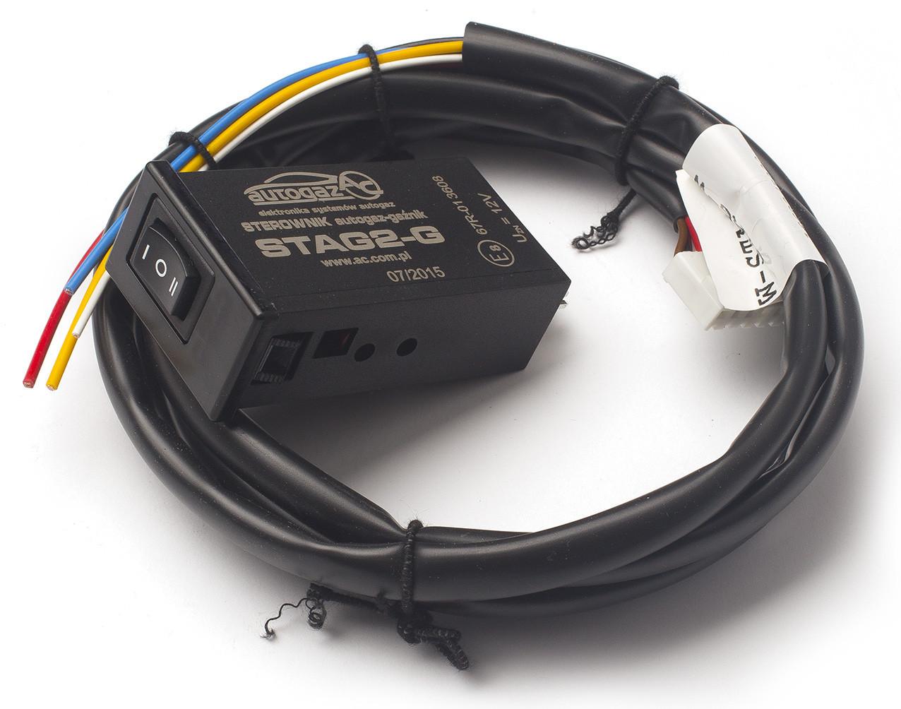 ГБО перемикач газ/бензин карб. 2-G (для ел. редуктора) (пр-во STAG)
