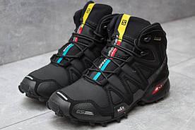 Зимние ботинки Salomon Speedcross 3 M&S Contagrip, черные 30181