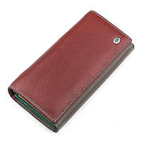Кошелек женский ST Leather 18387 (SB237) очень красивый Бордовый, фото 1