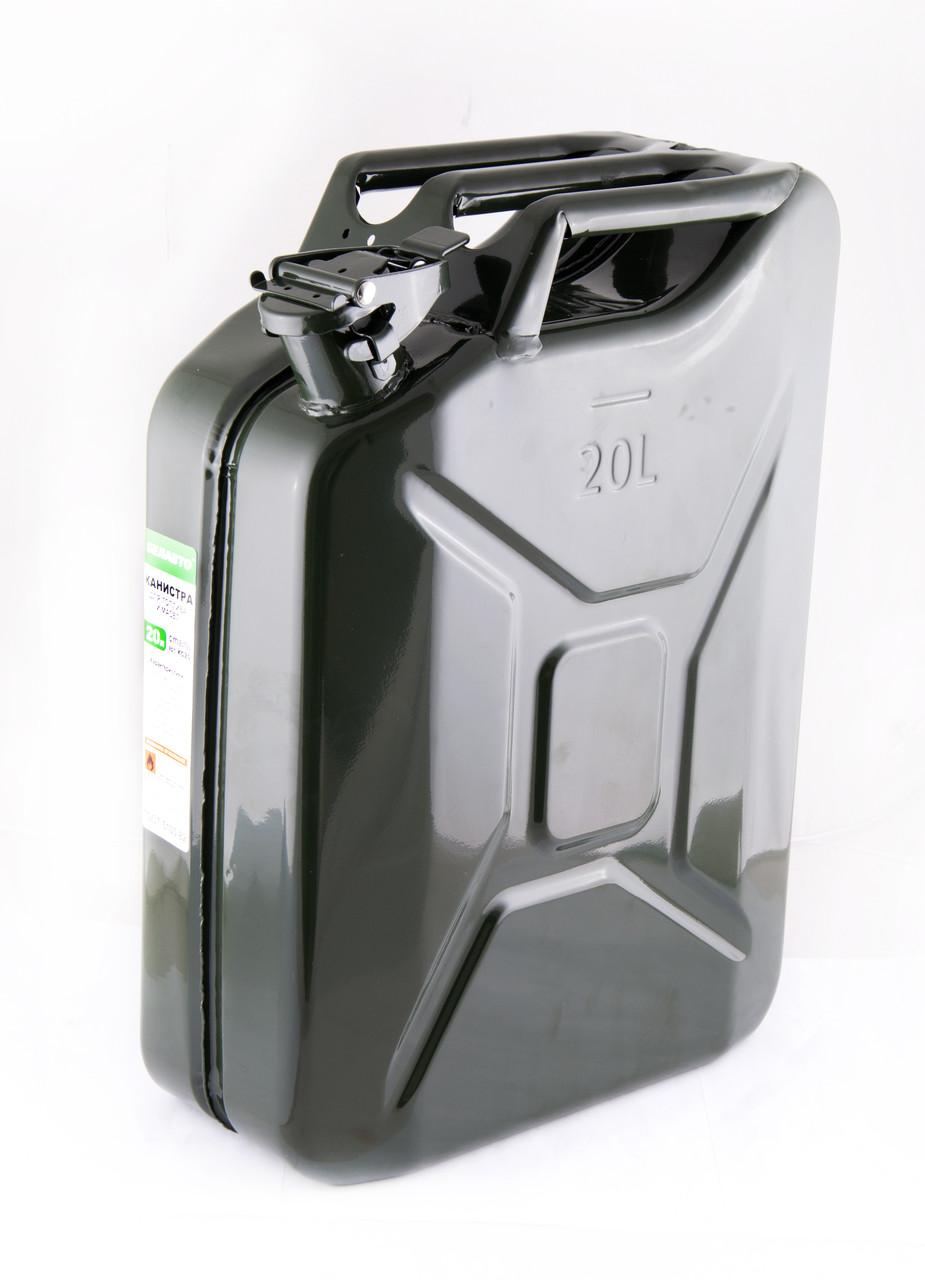 Канистра металлическая для топлива БЕЛАВТО 20л - BiBiMir.com - интернет-магазин автоаксессуаров в Одессе