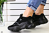 Кроссовки Adidas замшевые черные