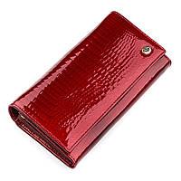 Кошелек женский ST Leather 18423 (S6001A) очень красивый Красный, фото 1