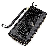 Кошелек женский ST Leather 18448 (S5001A) кожаный Черный, фото 1