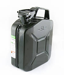 Канистра 5л БЕЛАВТО для бензина и дизельного топлива металлическая (KS05)