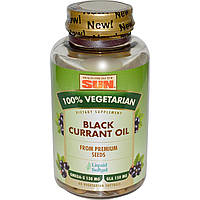 Масло семян черной смородины  Health From The Sun 60 капсул