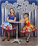 Красивое нарядное платье  с цветами  для девочек, фото 10