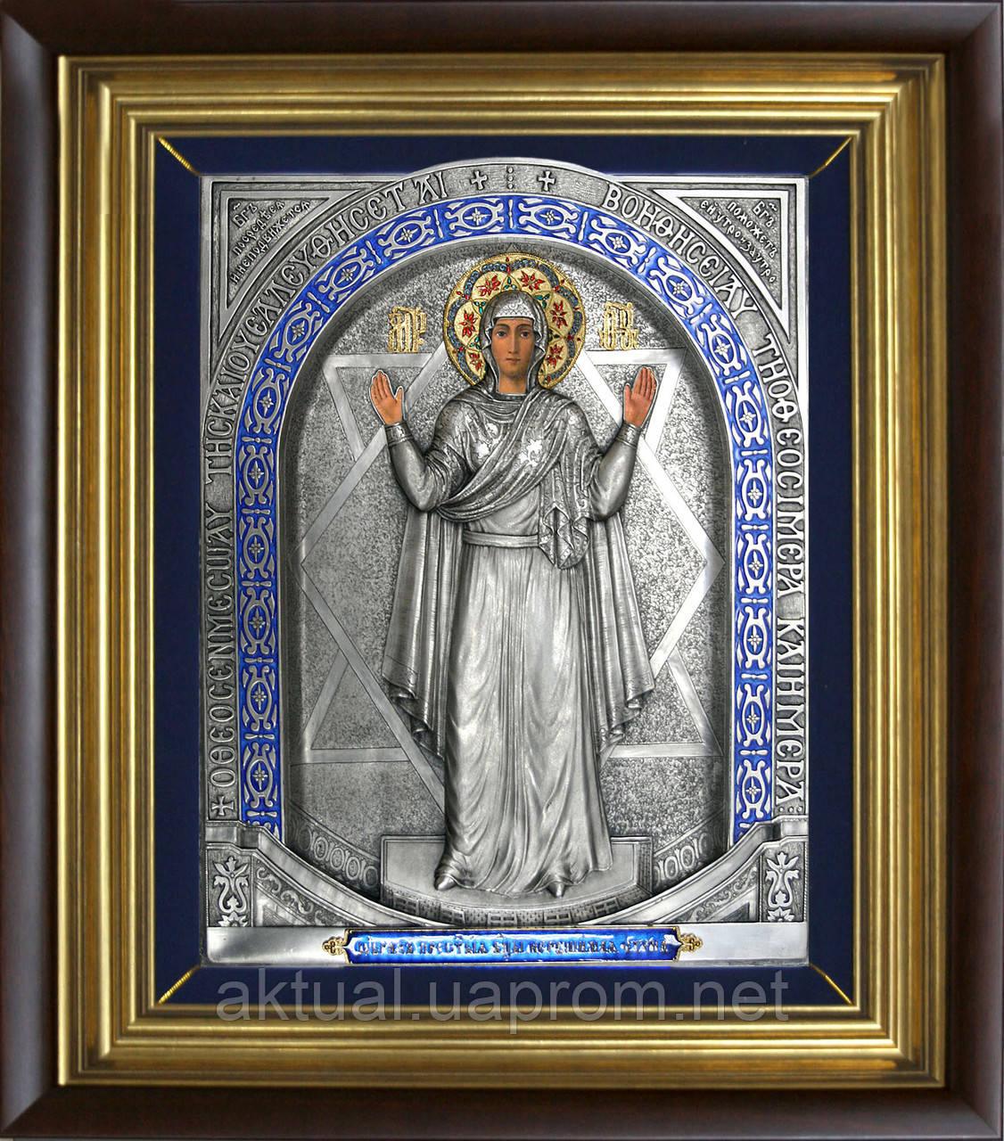 Икона Пресвятой Богородицы Нерушимая стена