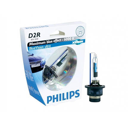 Philips D2R Blue Vision Ultra 6000K 85126, фото 2