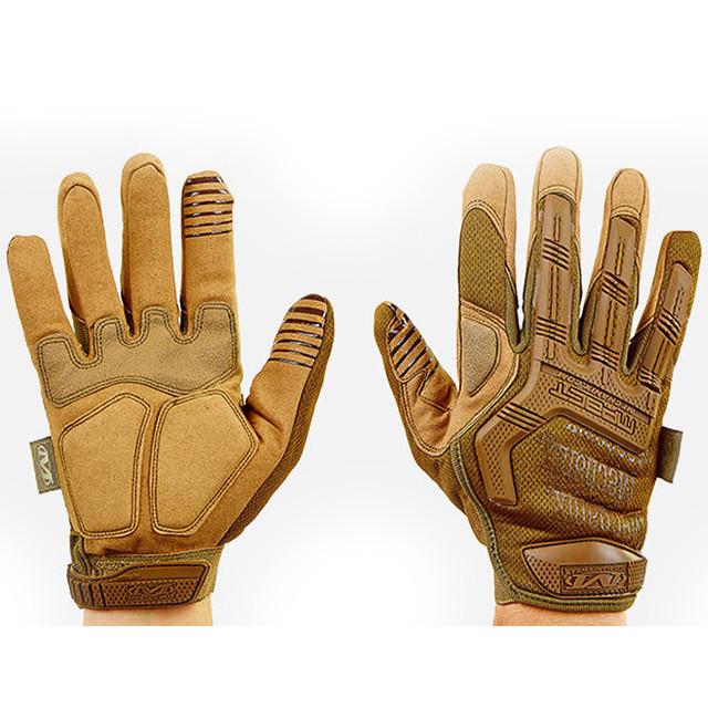 Перчатки тактические с закрытыми пальцами MECHANIX MPACT (CRBLRF)BC-5622 L