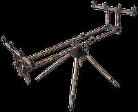 Камуфлированная подставка на 4 удилища Carp Zoom CZ 8304
