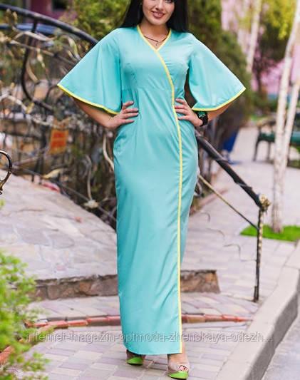 Длинное платье больших размеров