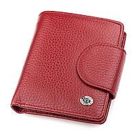 Кошелек женский ST Leather 18499 (ST415) небольшой Красный, фото 1