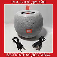 Круглая портативная Bluetooth колонка в стиле JBL E15