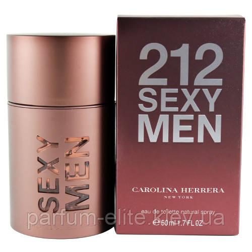 Мужская туалетная вода Carolina Herrera 212 Sexy Men 30ml