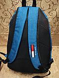 Рюкзак TOMMY HILFIGER мессенджер 300D спорт спортивный городской стильный только опт, фото 4