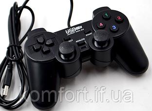 Проводной игровой USB джойстик USB-208, фото 2