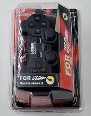 Проводной игровой USB джойстик USB-208, фото 3