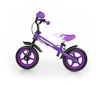 Велобег MILLY MALLY DRAGON с ручн тормозом Фиолетовый