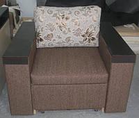 Кресло-кровать с накладками, со спальным местом, раскладное, мягкая мебель для дома