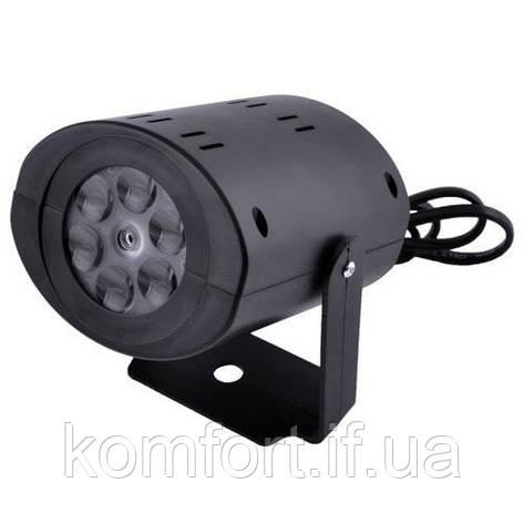 Диско проектор W665, 12LED, 220V, фото 2