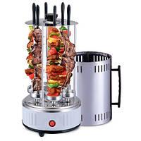 Электрошашлычница BBQ на 5 шампурів, шашличниця гриль електричний